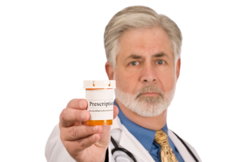 Doctor With Prescription Medication St6nTpNi