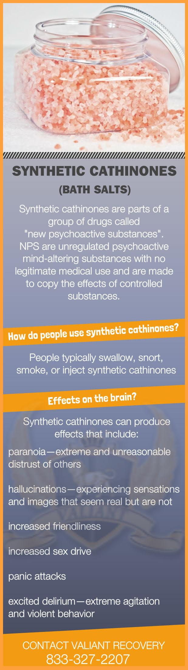 "What are Bath Salts ""Synthetic Cathinones"" - Infographic"