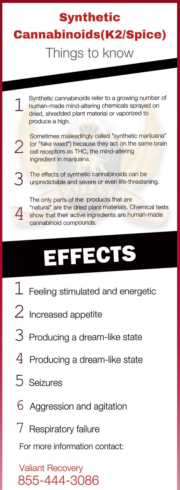 What is K2/Spice - Synthetic Cannabinoids - Infographic